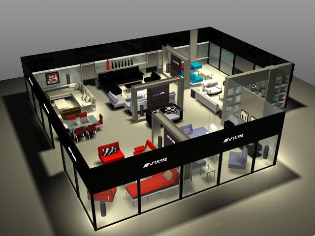 sunny家具卖场空间设计
