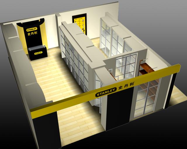 史丹利专卖店设计 - 专卖店设计,品牌形象店设计,深圳