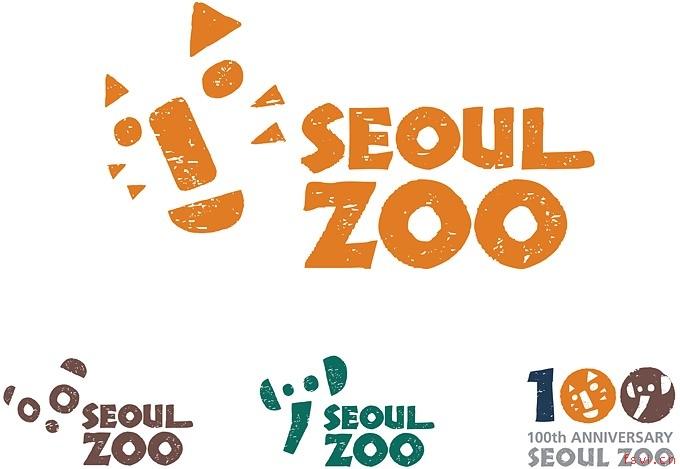 形象设计,系列标志由不同的动物和seoul