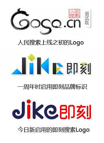 人民搜索旗下通用搜索引擎历次Logo沿革