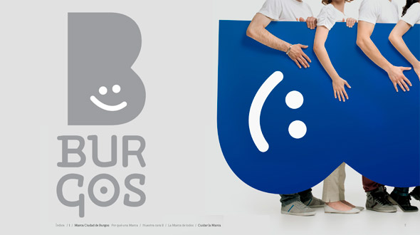 Burgo brand new 00 西班牙北部城市布尔戈斯(Burgo)形象LOGO