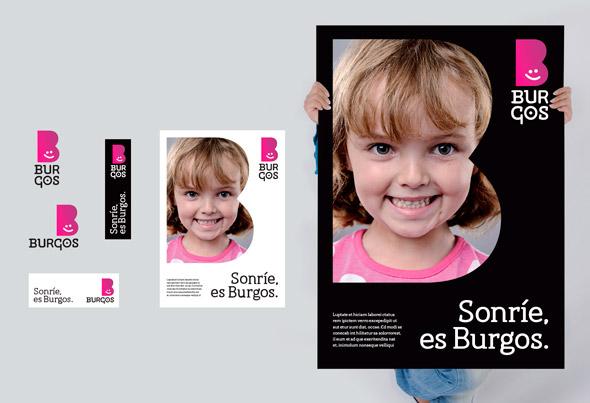 Burgo brand new 07 西班牙北部城市布尔戈斯(Burgo)形象LOGO