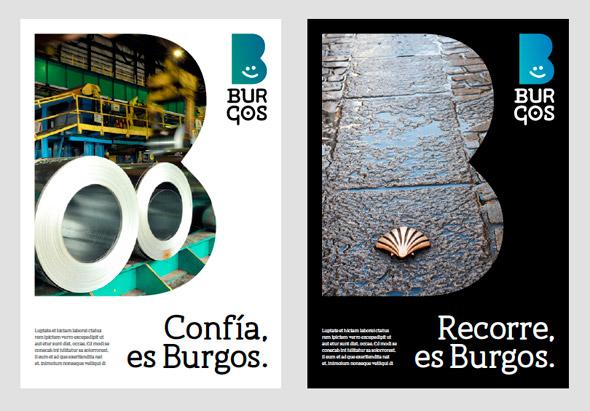 Burgo brand new 09 西班牙北部城市布尔戈斯(Burgo)形象LOGO