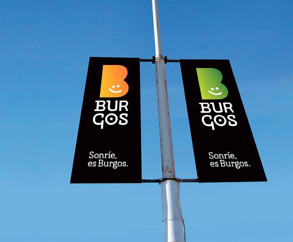 Burgo brand new 10 西班牙北部城市布尔戈斯(Burgo)形象LOGO