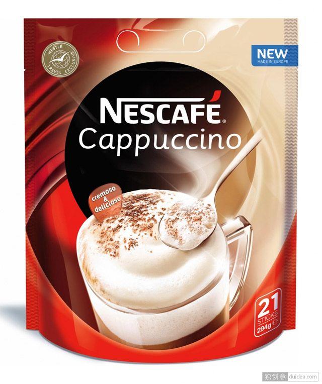 雀巢咖啡(Nescafé)启用新LOGO