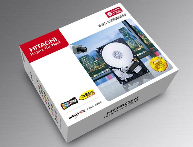 日立硬盘包装设计-深圳优为形象机构-海南广告公司