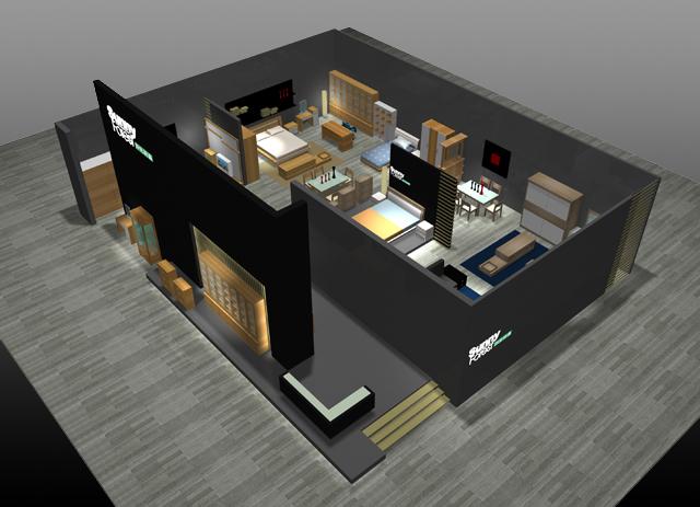 卖场设计_童装卖场设计平面图_室内卖场设计图